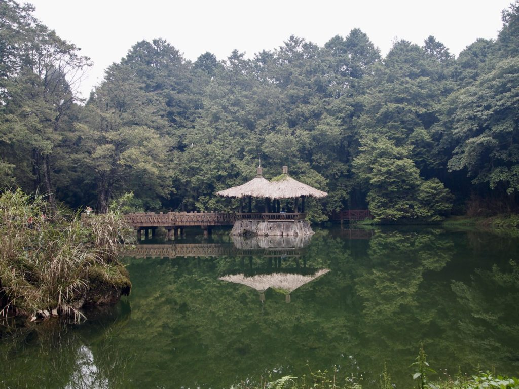 taiwan hiking alishan forest pagoda expat hikers