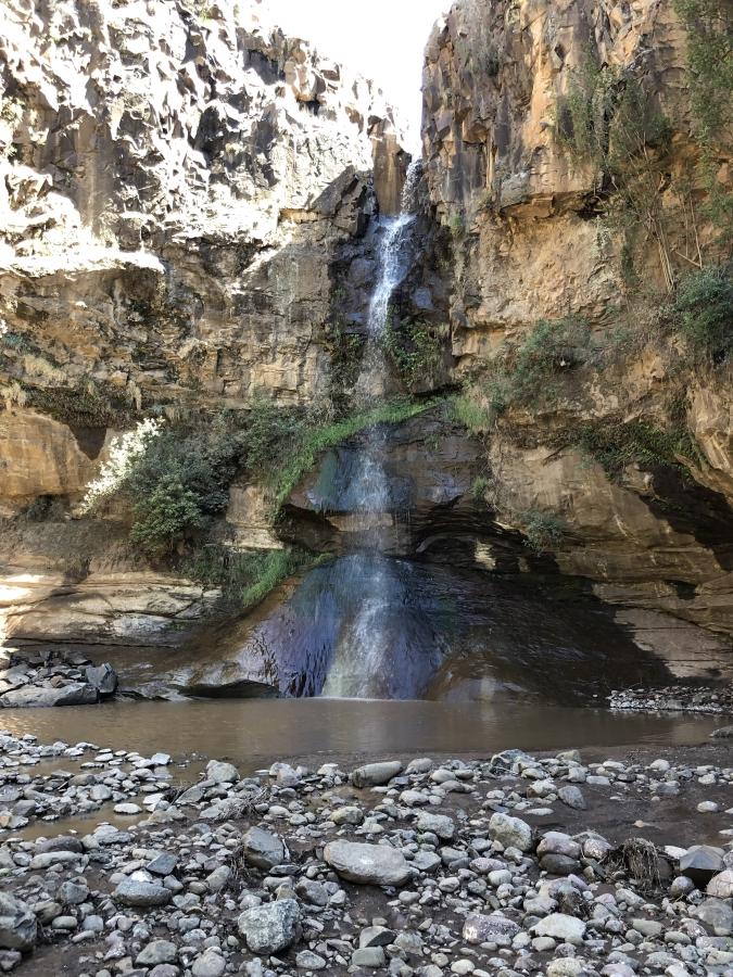 Basotho Falls Malealea Lesotho