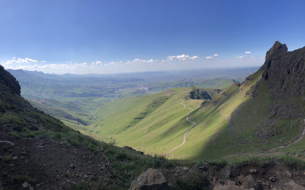 Drakensberg hiking view