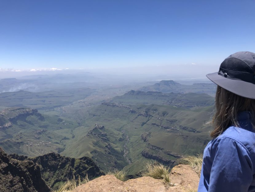 Drakensberg hiking view