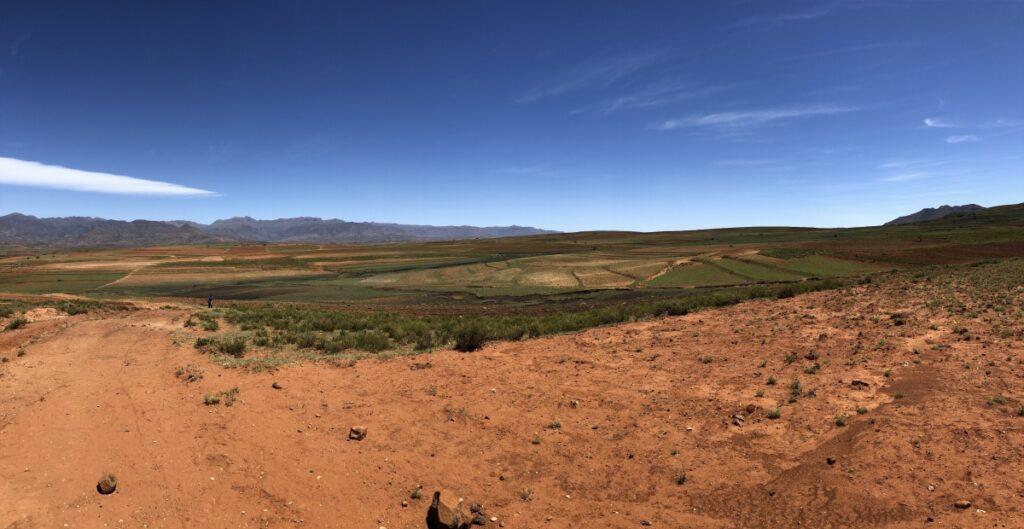 Malealea village agriculture