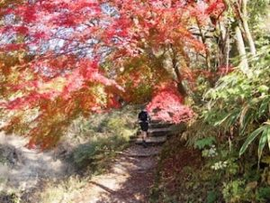 Nakasendo trail japan autumn colors