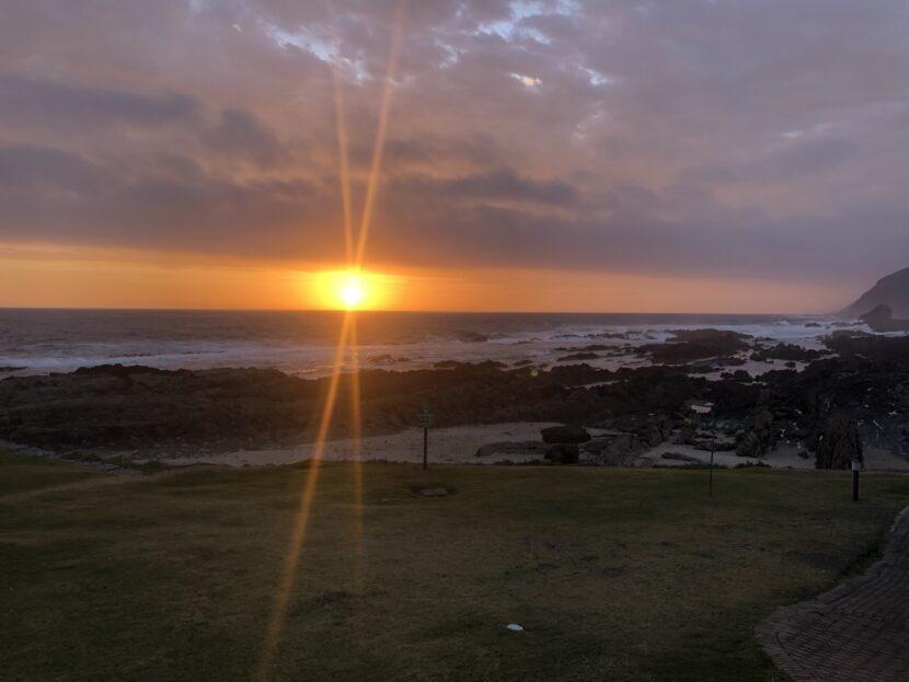 perfect sunset tsitsikamma